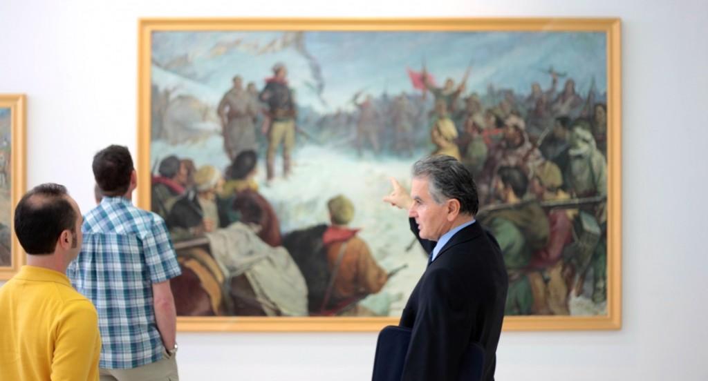 Socialist Realism Art Tour in Tirana, Albania