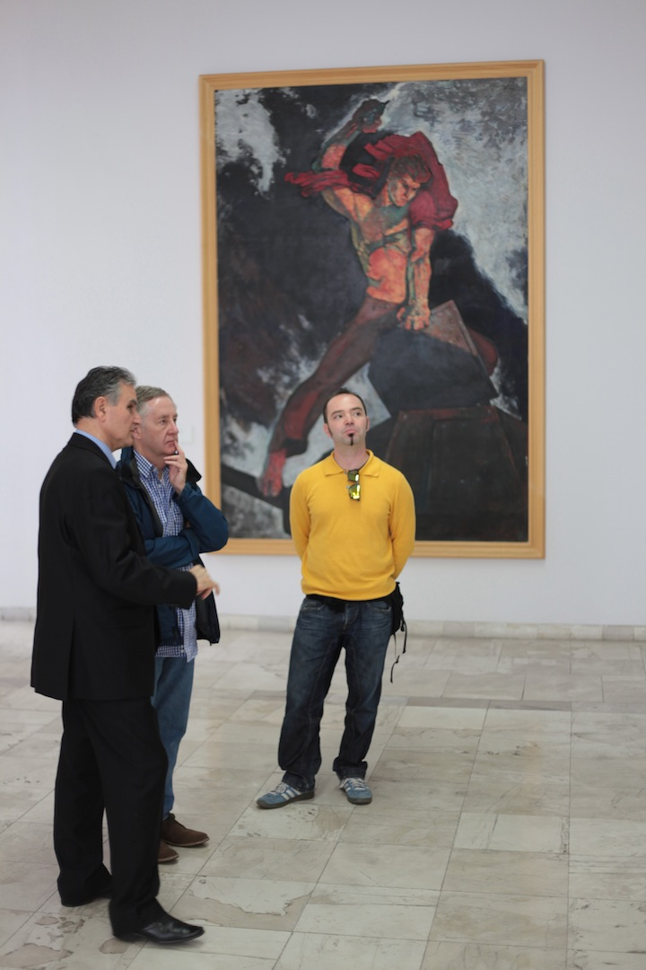 Tirana art gallery tour